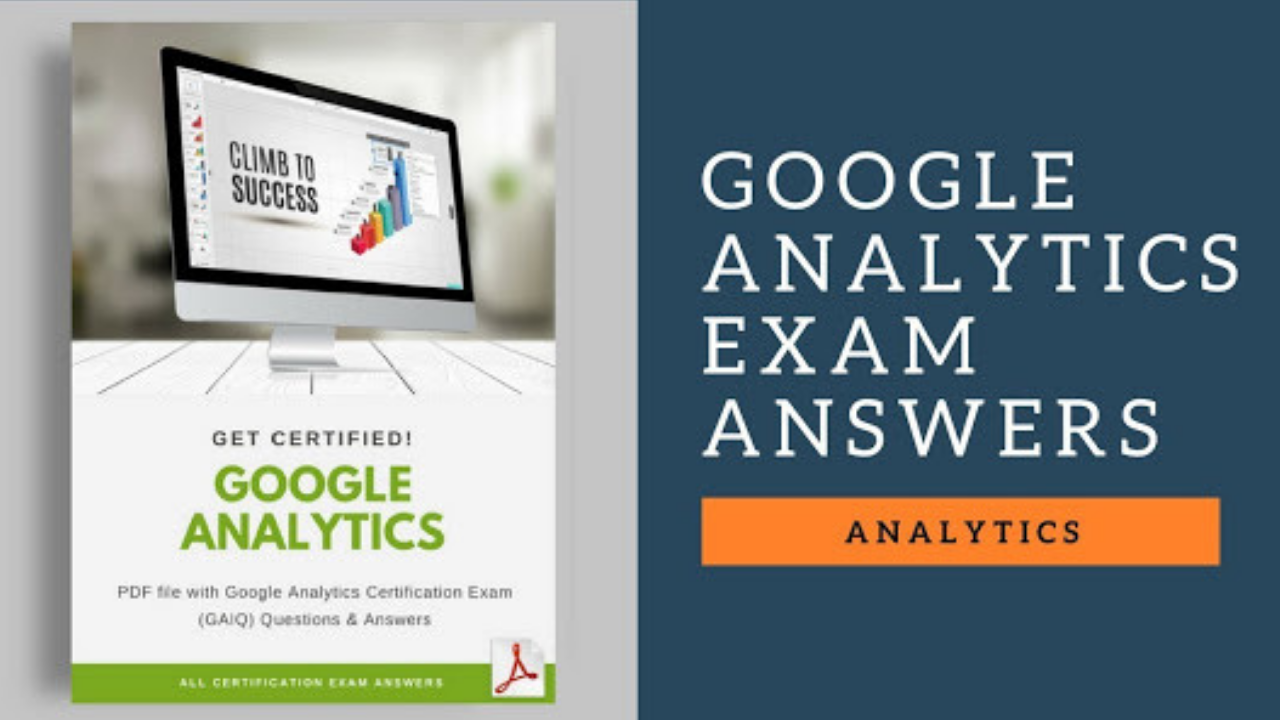 Google Analytics Certification Exam Question And Answers 2018