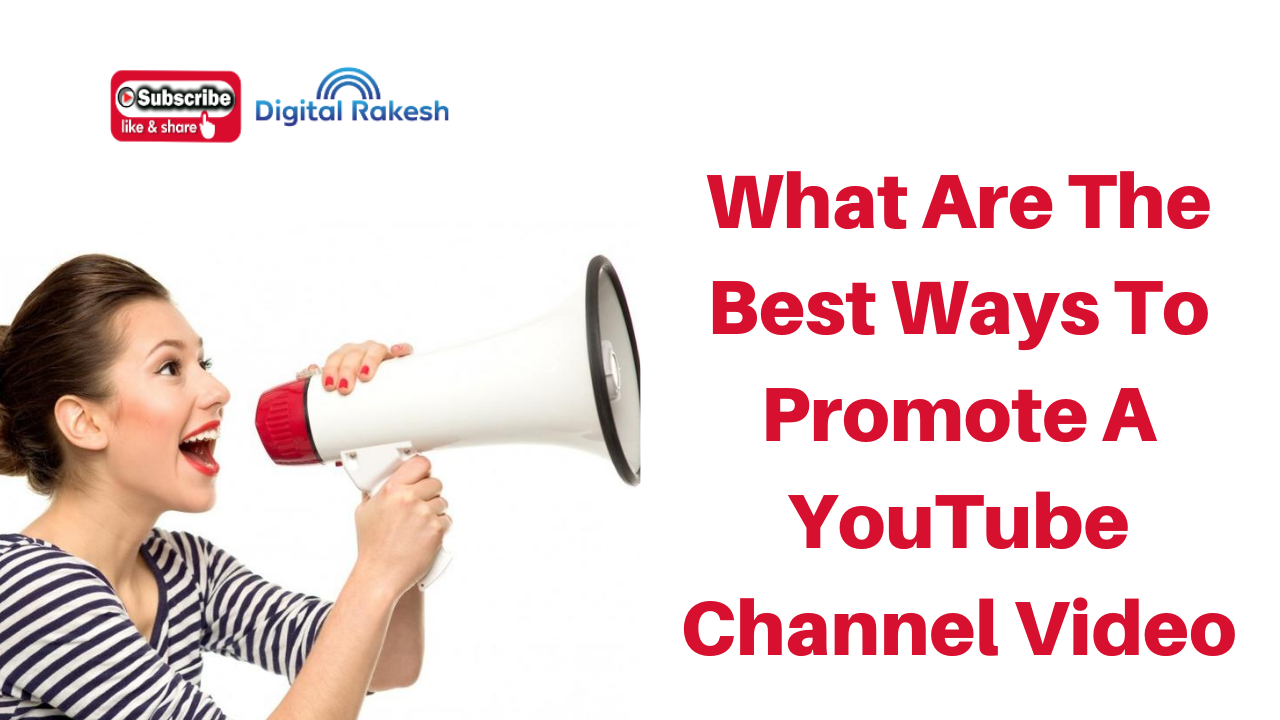 What are the best ways to promote a YouTube channel