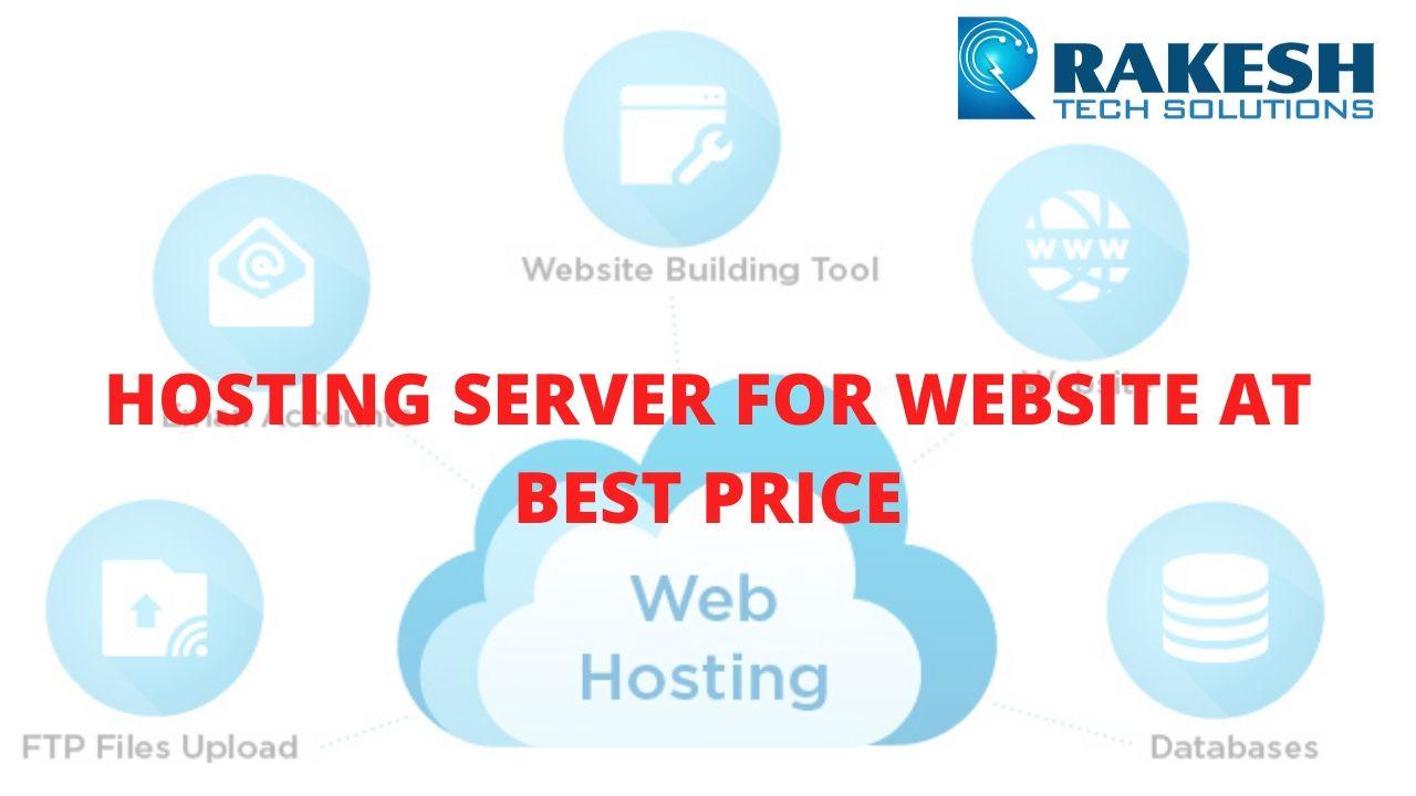 hosting server for website at best price